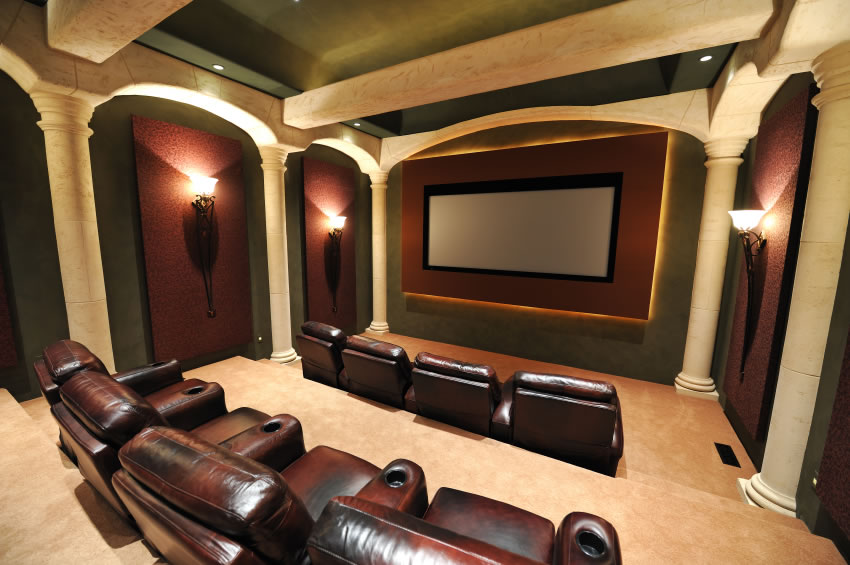 modern basement home theater design ideas home