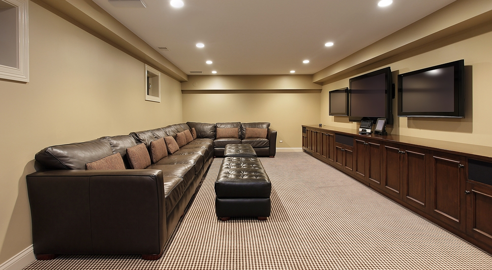 Bedroom home theater room best design and decorating ideas remodel inspirational best free - Best basement design ...