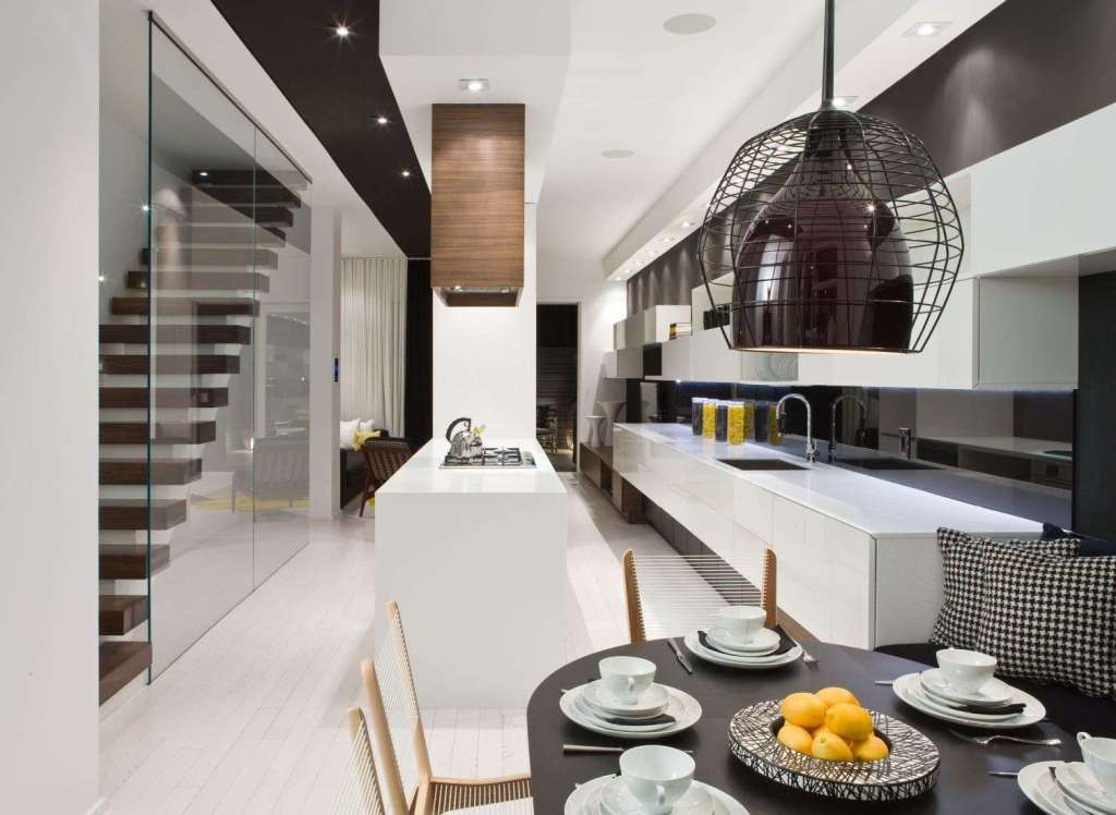 Modern-Dining-Room-Table-and-Chairs-With-Kitchen-Set