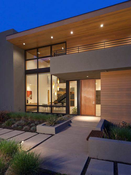21 stunning modern exterior design ideas for Flat exterior design