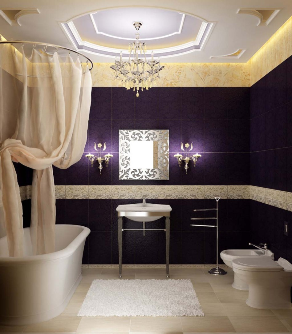 modern luxury bathroom decor ideas for apartment - Bathroom Decorating Ideas For Apartments