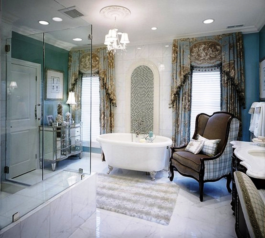 Modern Luxury Eclectic Bathroom Decor Ideas