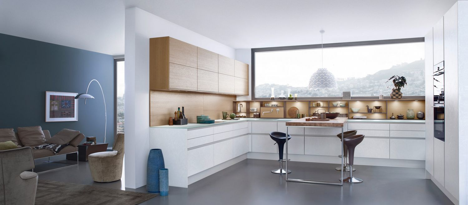 Modern kitchen design for contemporary living