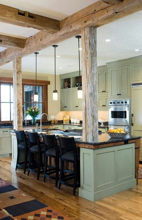 25 ideas to checkout before designing a rustic kitchen for Contemporary kitchen art decor
