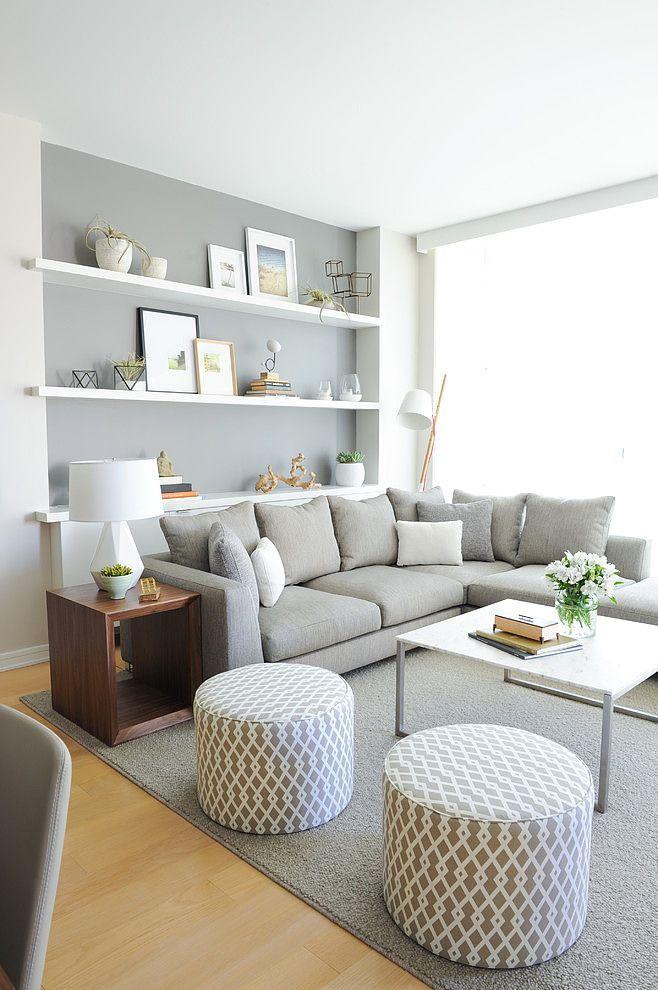 Modern white living room ideas