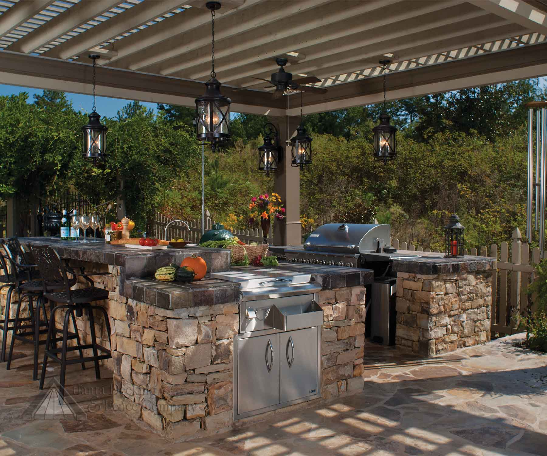 Outdoor Kitchen - Designing The Perfect Backyard Cooking ... on Patio Kitchen Designs id=79816