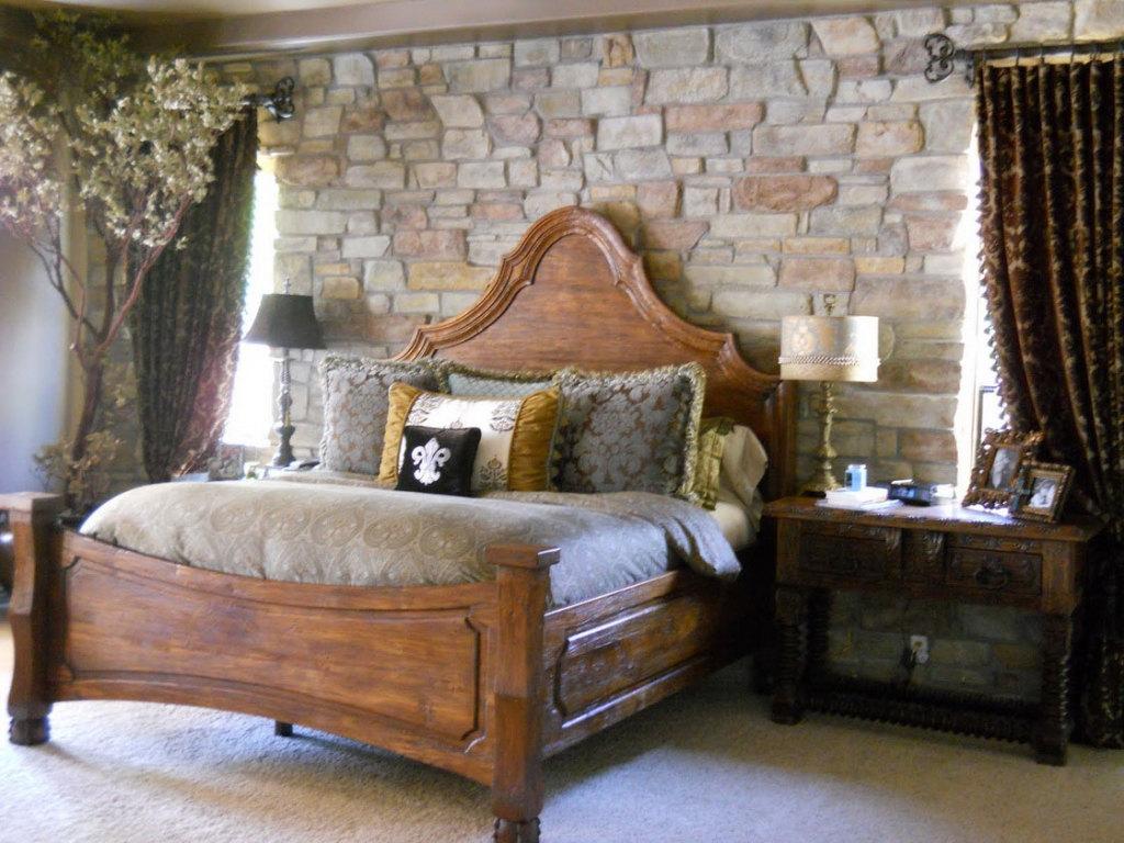 Rustic Bedroom Ideas For Classic And Antique Impression Actual Home Rustic Bedroom Design Ideas