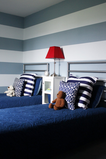 Shared Boys Bedroom contemporary-kids