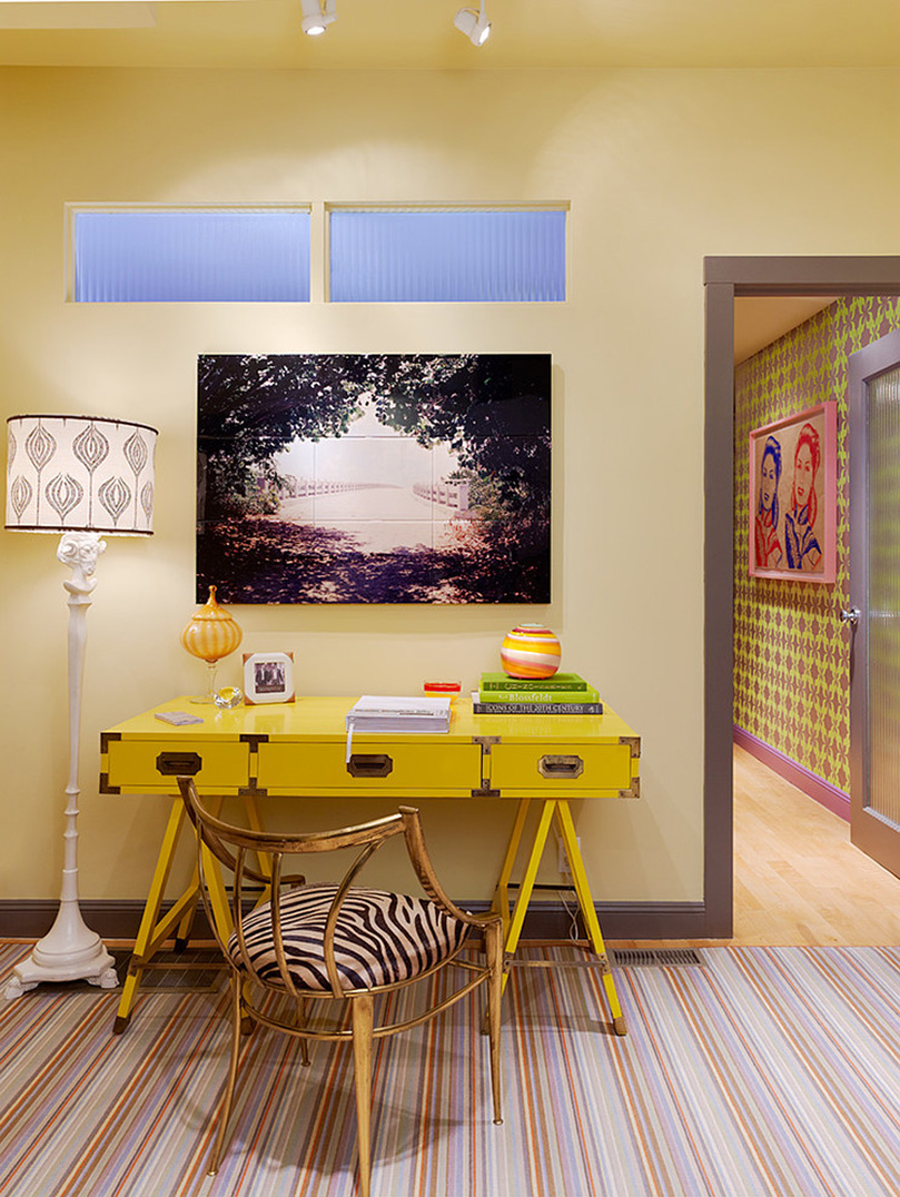 31 great eclectic home office design ideas for Office design at home