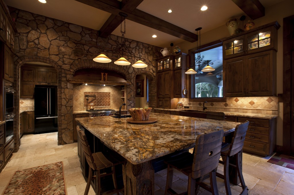 25 ideas to checkout before designing a rustic kitchen for Kitchen designs big