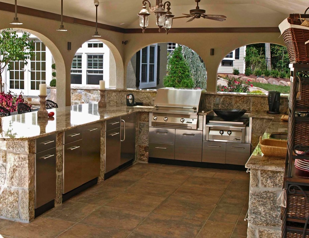 Stainless Steel Outdoor Kitchen Cabinets