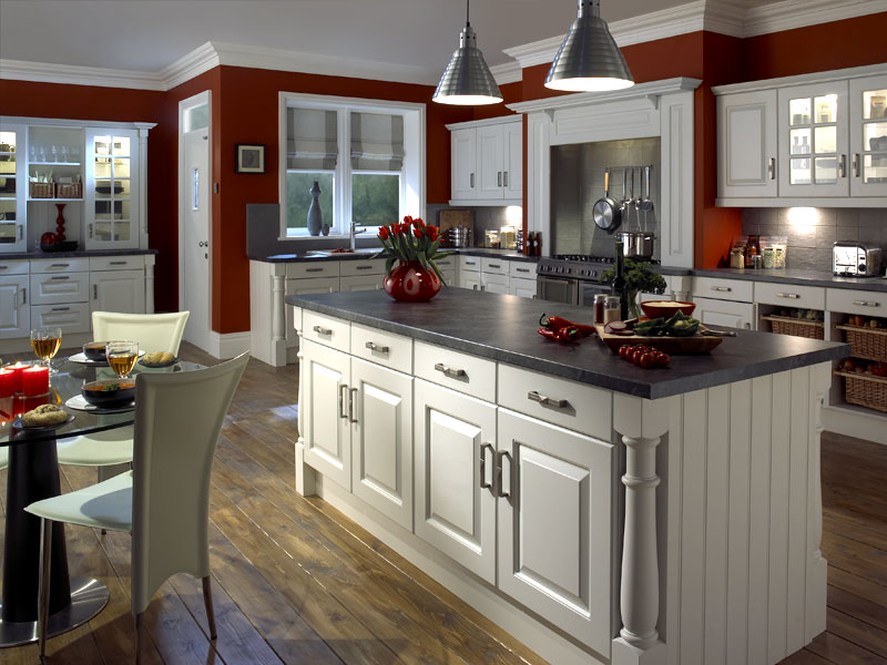 30 popular traditional kitchen design ideas for Kitchen setup designs