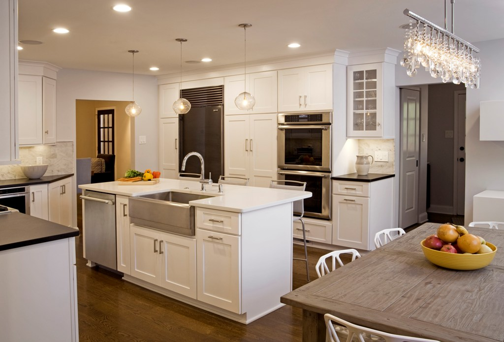 25 stunning transitional kitchen design ideas for Kitchen remodel design