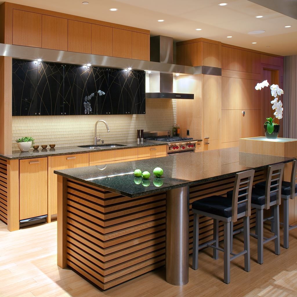 Brighten your kitchen with asian kitchen ideas for Inspired kitchen design