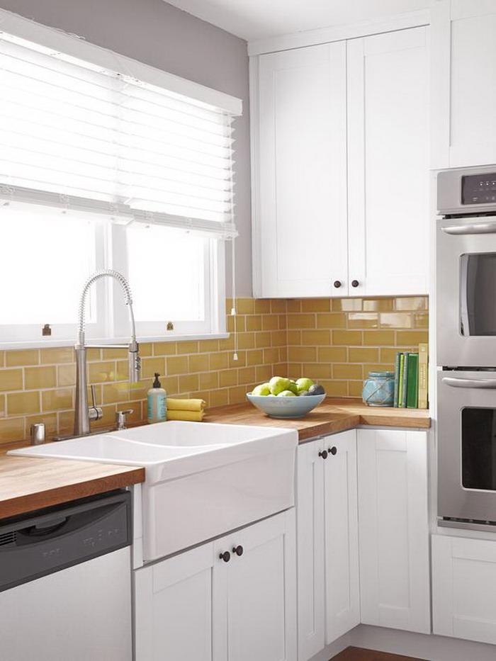 White Luxury Small Kitchen