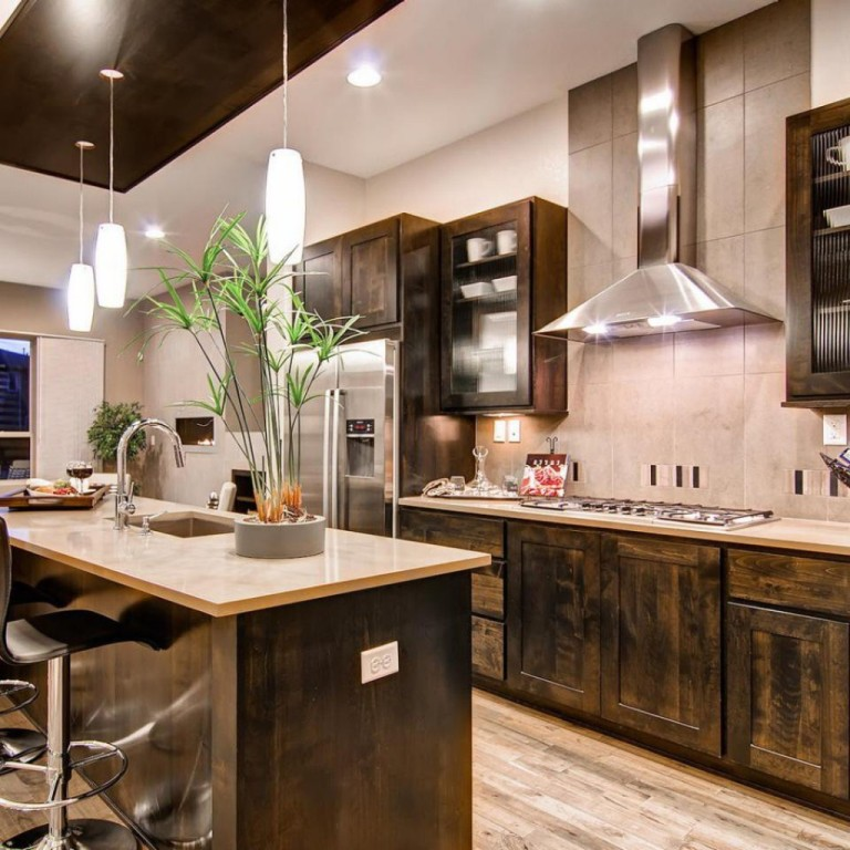 25 ideas to checkout before designing a rustic kitchen - Modern rustic kitchen cabinets ...