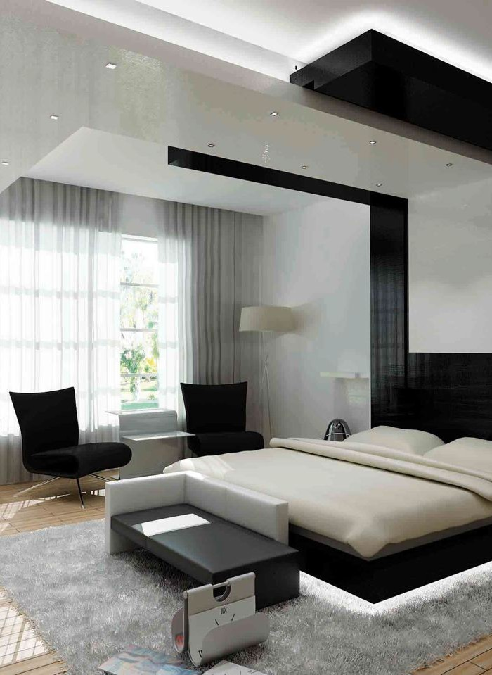 25 contemporary bedroom ideas to jazz up your bedroom Modern chic master bedroom