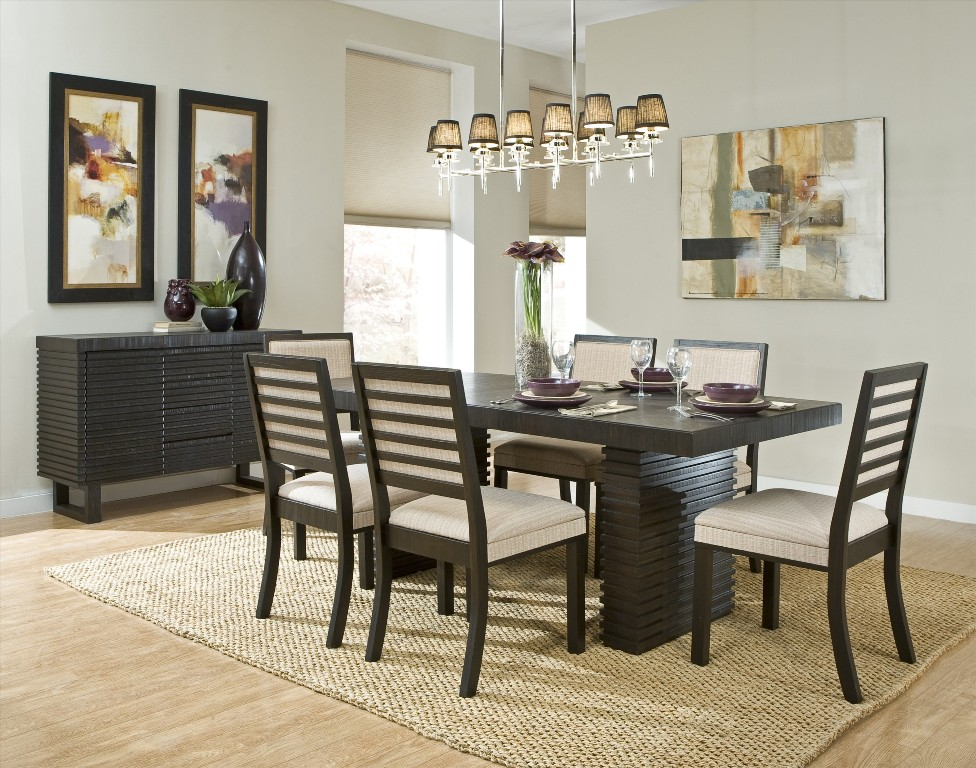 Get the best modern dining room ideas for your home for Dining room decor 2016