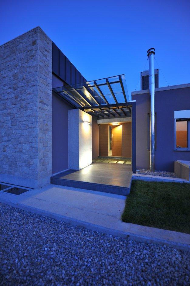exterior modern entry