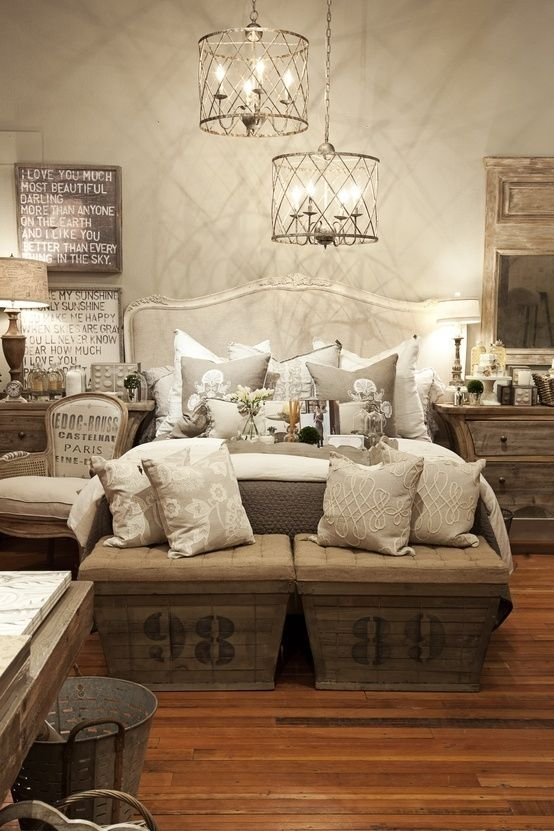 25 Simple Farmhouse Bedroom Design Ideas on Bedroom Farmhouse Decor  id=21565