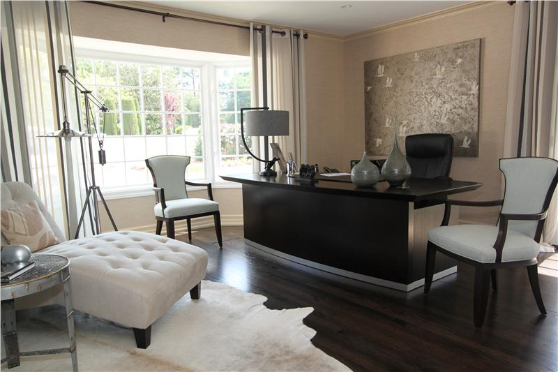 larger Elegant Contemporary Home Office