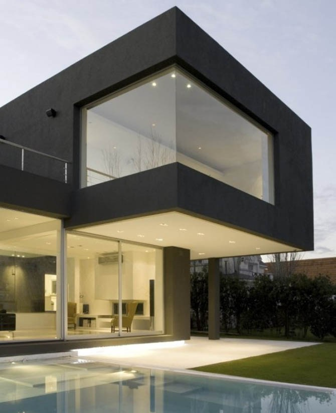 21 stunning modern exterior design ideas Modern home plans 2015
