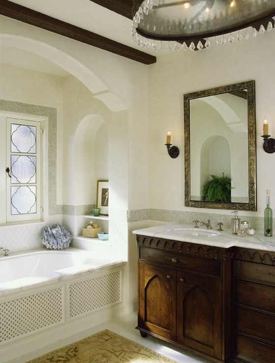 25 inspirational mediterranean bathroom design ideas for Bathroom decor inspiration
