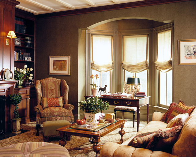 21 home decor ideas for your traditional living room for Traditional home decor