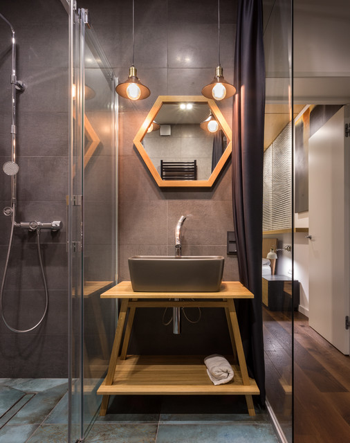 Astonishing Industrial Bathroom Designs