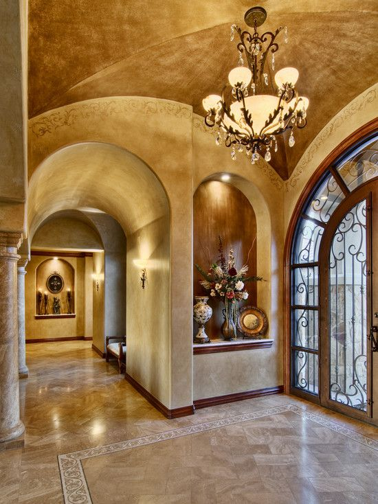 Foyer Art Niche : Traditional entry design ideas for your home