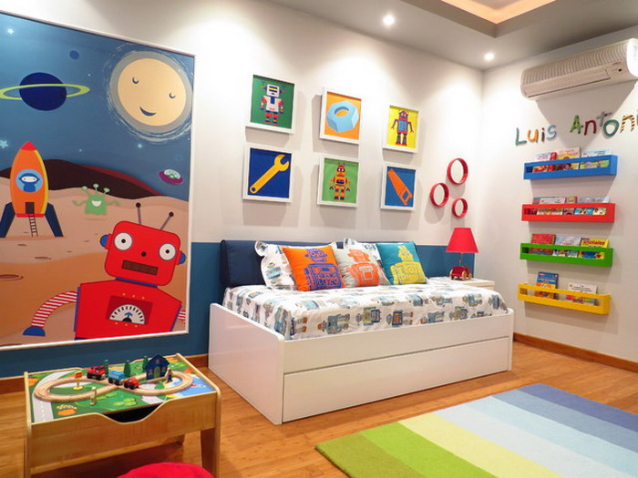 check our pictures of 25 awesome eclectic kids room design ideas