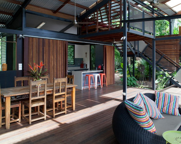 Contemporary-Industrial-Patio-Exterior-Design