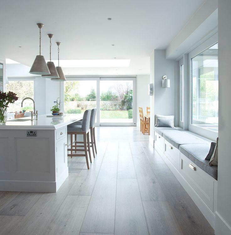 Contemporary Kitchen all white