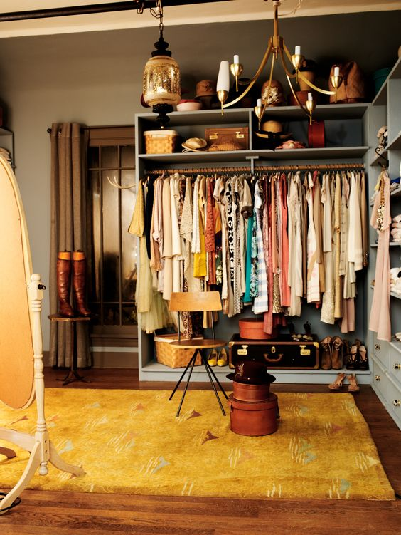 Cotton closet