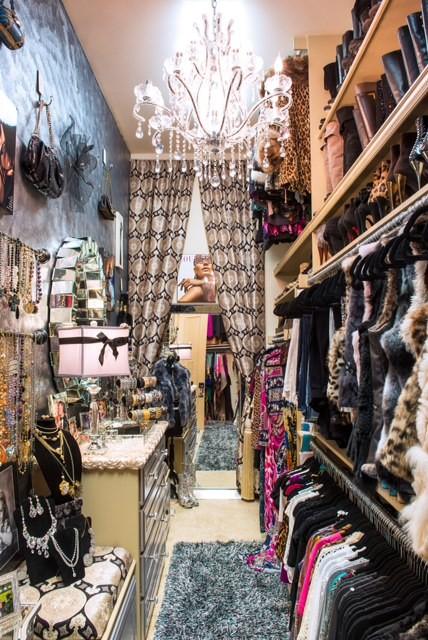 Custom Design Closet Boutique eclectic-closet