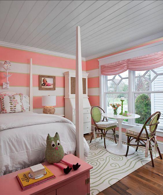 Cute girls room designed
