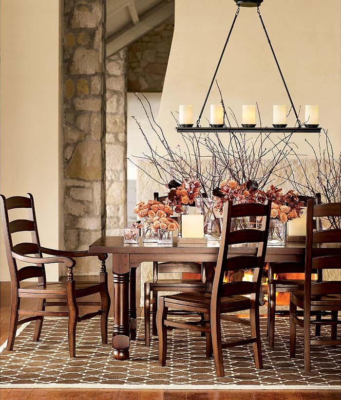 Rustic Chandeliers For Dining Room: 30 Amazing Rustic Dining Room Design Ideas