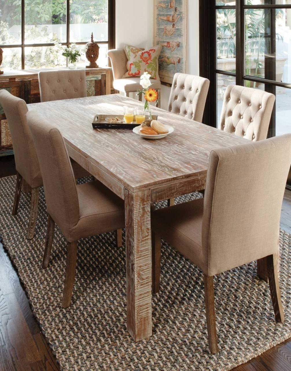 30 amazing rustic dining room design ideas for Rustic dining room