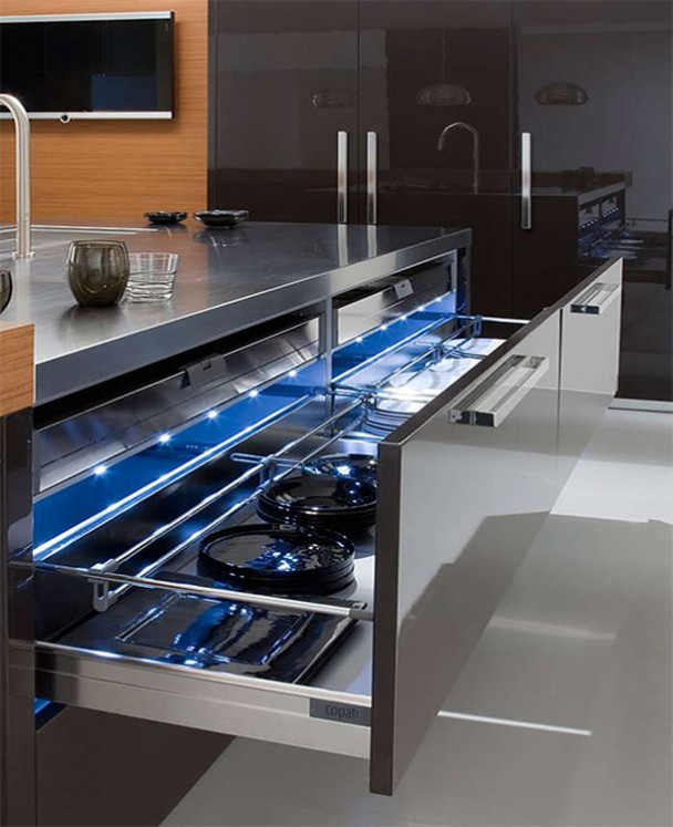 Drawer At Sophisticated Kitchen Design and style Salina