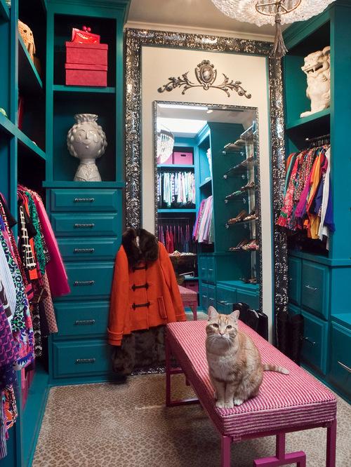 Eclectic Closet Design Ideas