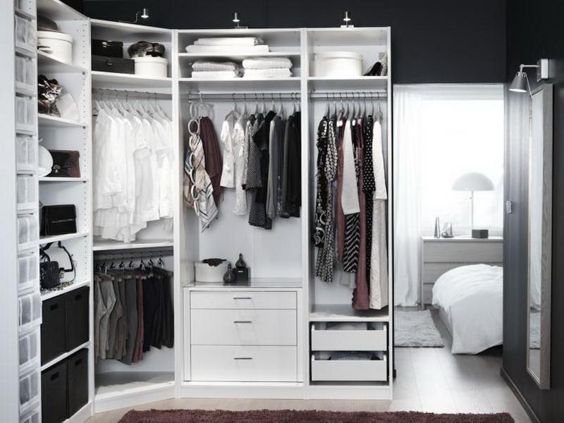 20 modern storage and closet design ideas - Small closet space minimalist ...