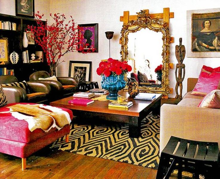 bohemian living room furniture 25 awesome bohemian living room design ideas 14997