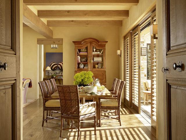 Hilltop Retreat mediterranean-dining-room