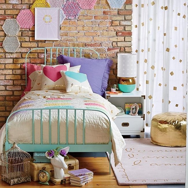 Kids Rooms Eclectic