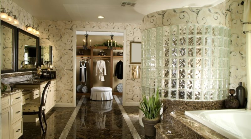25 stunning transitional kitchen design ideas for Large luxury bathrooms