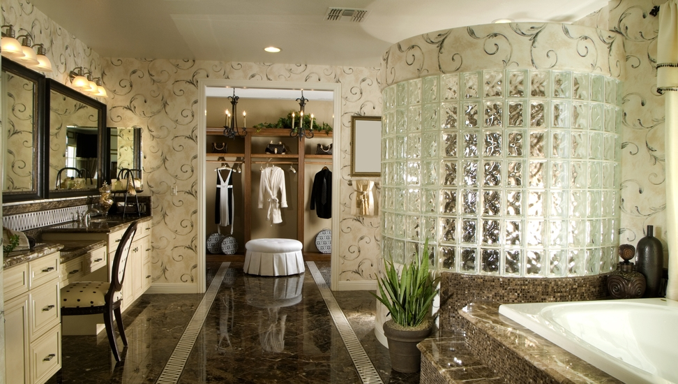 30 ways to enhance your bathroom with walk in showers for Large luxury bathrooms