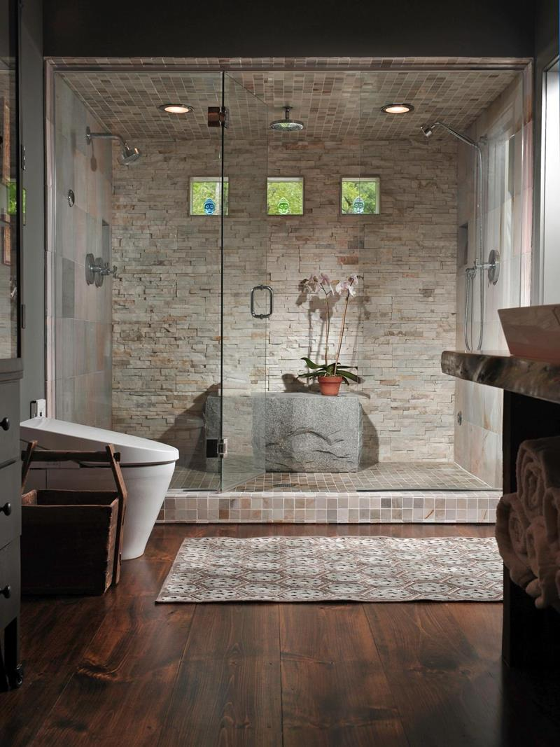 30 ways to enhance your bathroom with walk-in showers
