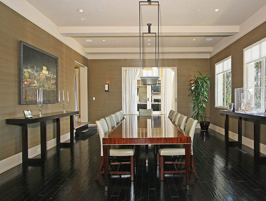Mediterranean-Home-Beverly-Hills-Dining-Room