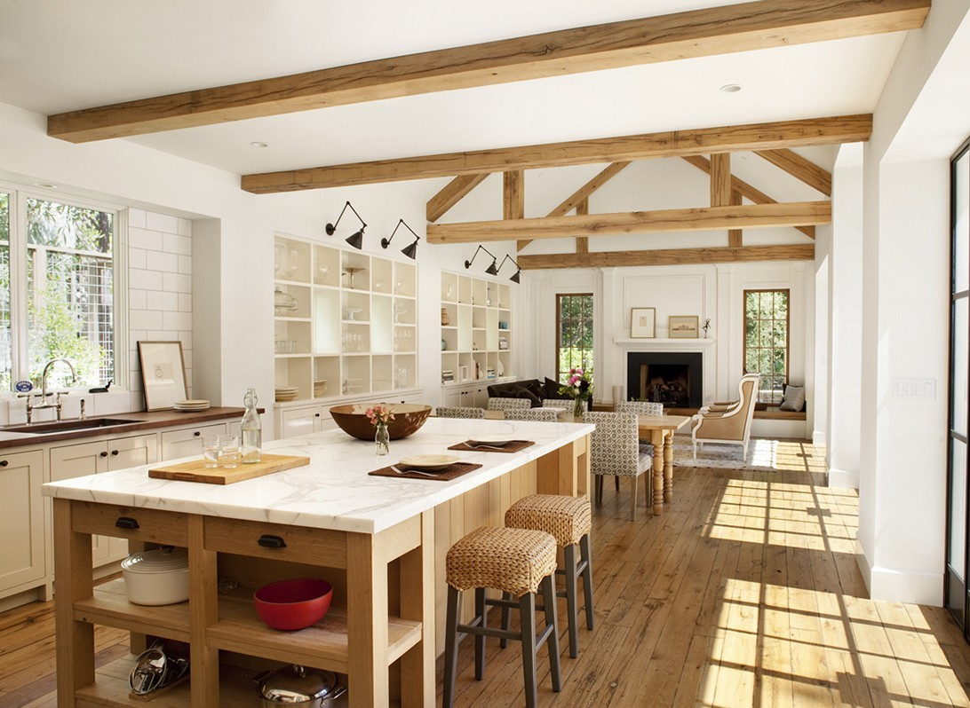 Modern-Farmhouse-Dining-Room-Décor-Pictures