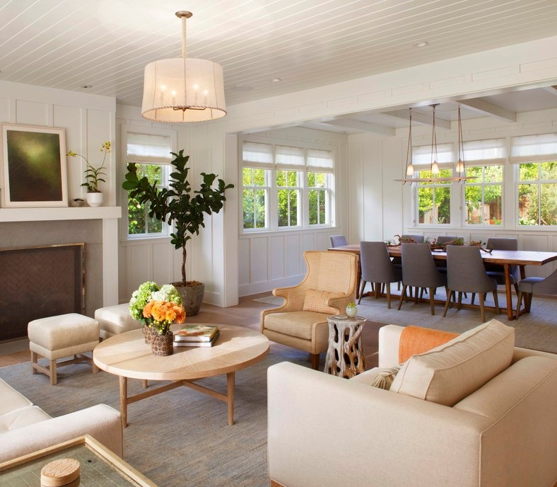 Luxurious Home Decor Ideas That Will Transform Your Living: Transform Your Home With Farmhouse Living Room
